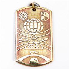 3, 18. századi asztrológiai és navigációs talizmán