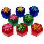 Műanyag ékszerdoboz -hexagon