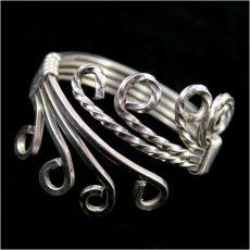 Drótékszer gyűrű