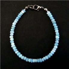 Owyhee kék opál karkötő