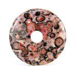 Donut (fánk)  medál - Leopárdjáspis