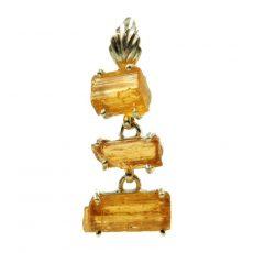 Imperiál topáz, aranytopáz medál