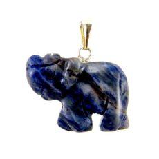 Elefánt  medál - Szodalit