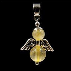 Rutilkvarc angyal medál