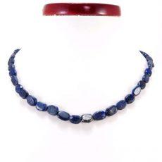 Lápisz lazuli indiai nyaklánc -ovál