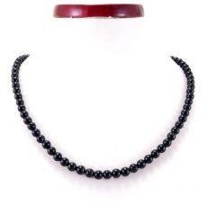 Fekete turmalin (sörl)  nyaklánc