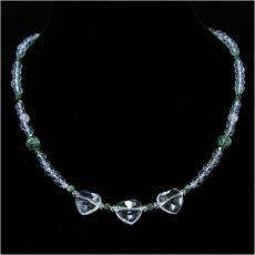 Hegyikristály Szerafinit nyaklánc