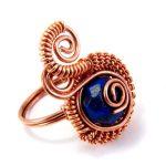 Lápisz lazuli gyűrű  #101